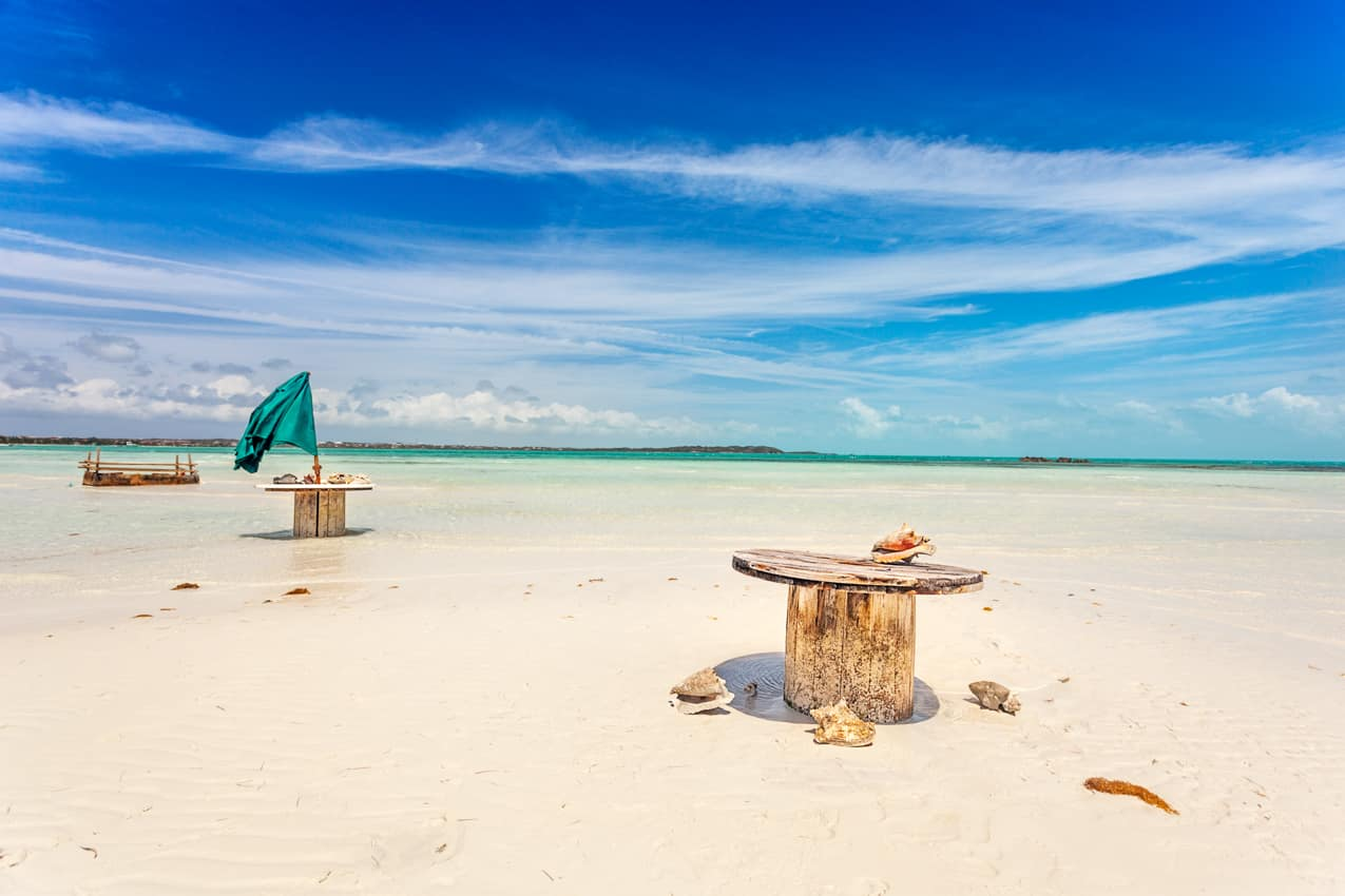 Praia Turks and Caicos, Five Cays, Providenciales