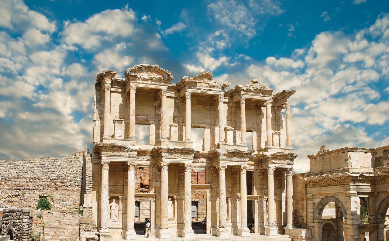 Atração turística, Éfeso, Turquia Turismo