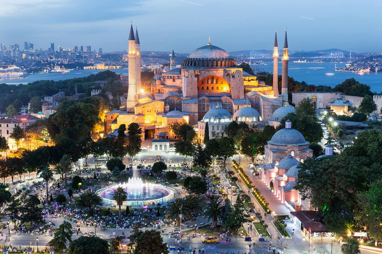 Basílica de Santa Sofia Divan İstanbul