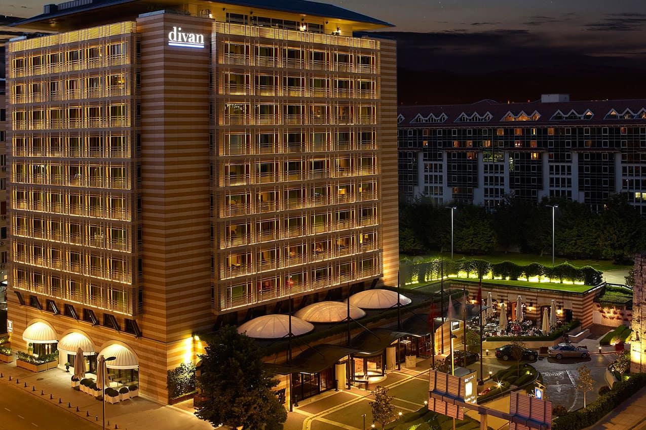 Exterior hotel Divan İstanbul