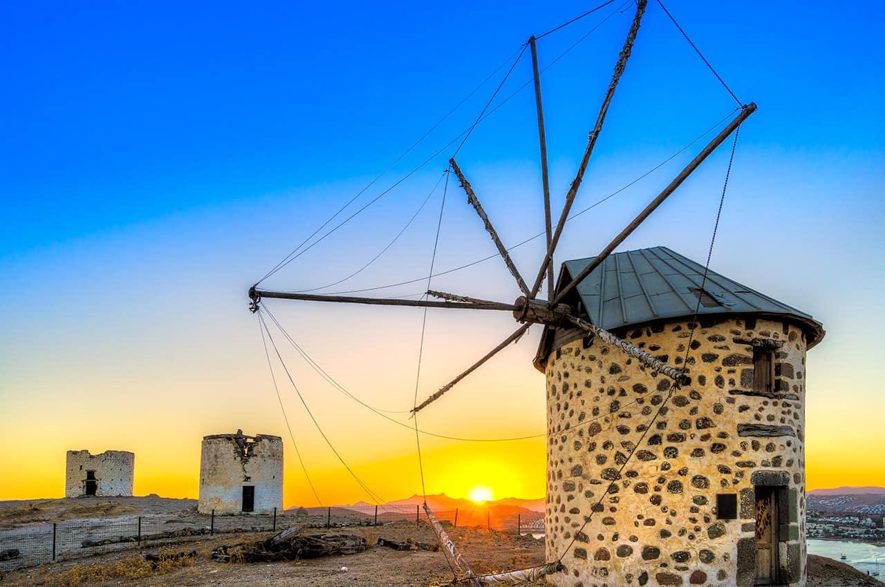 Moinho de vento - Turquia.