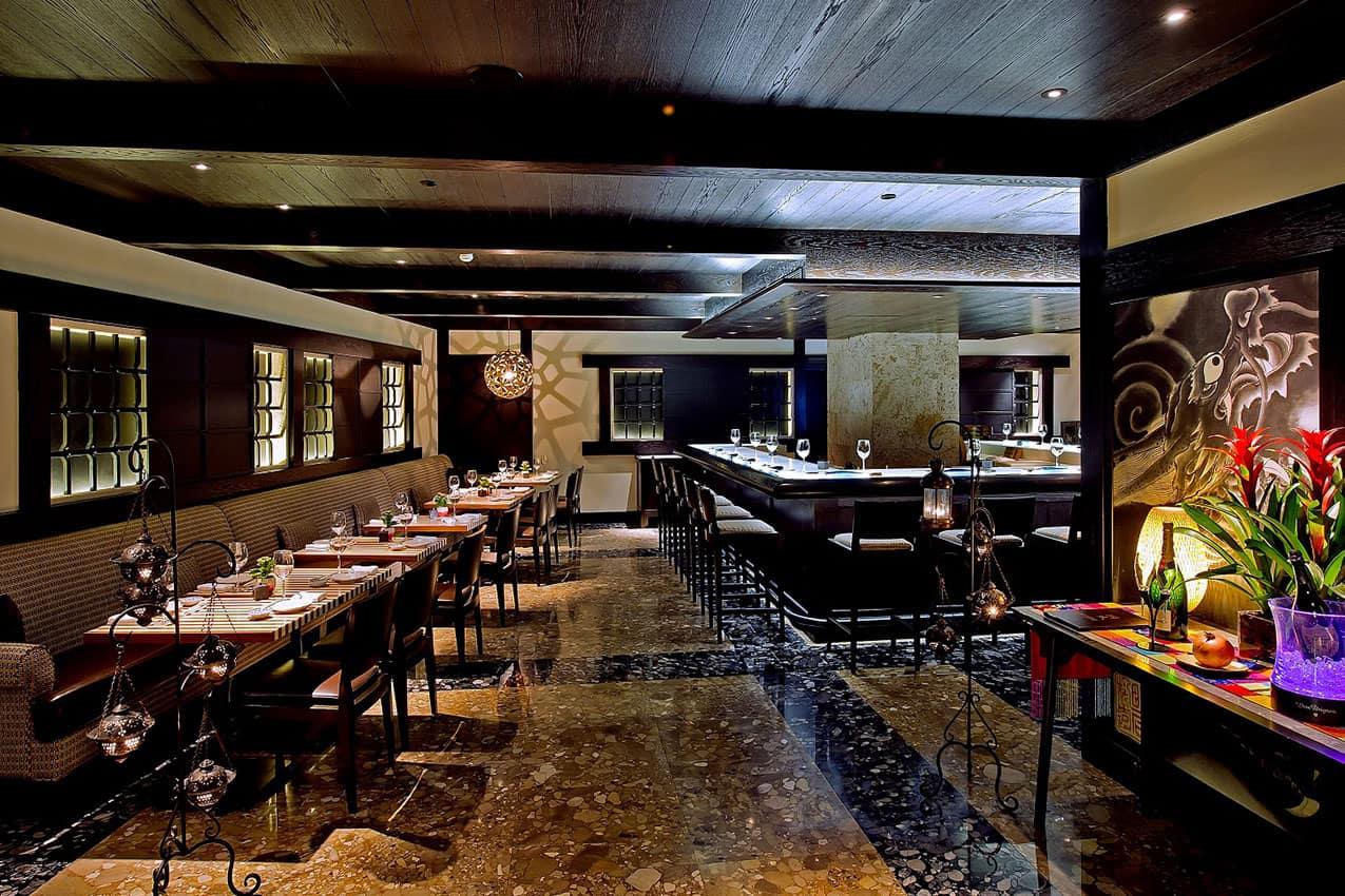 Restaurante japonês Maromi Divan İstanbul