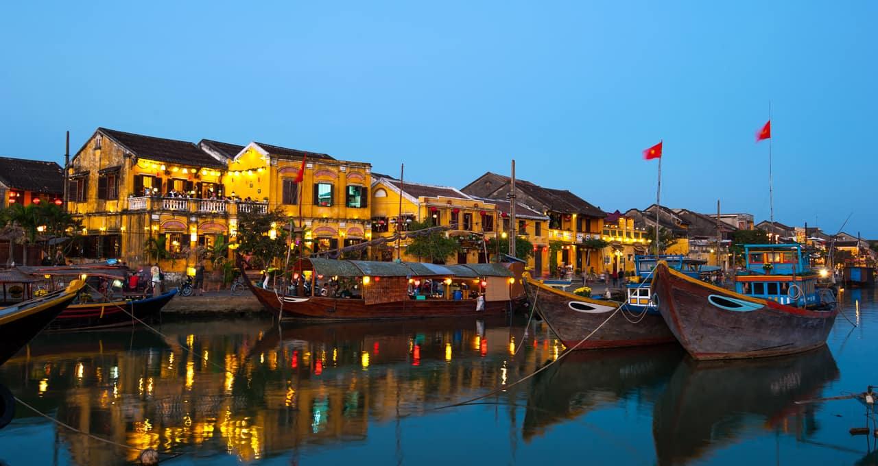 Atração turística Cidade Antiga Hoi An, Vietnã
