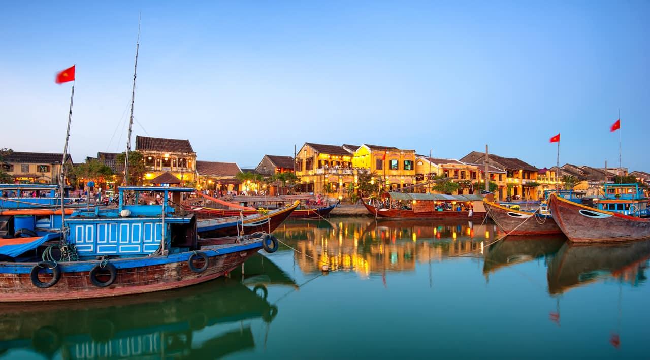 Cidade antiga, Hoi An, Vietnã