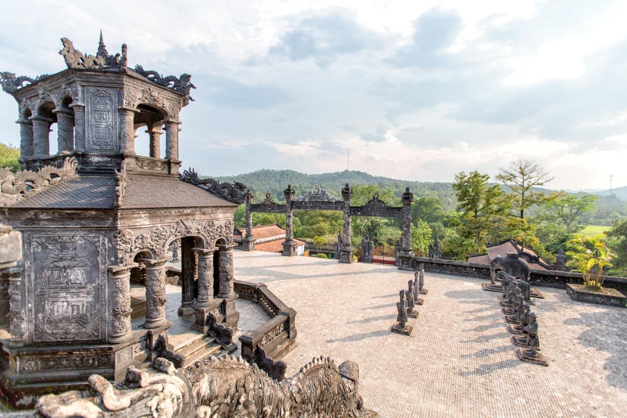 Patrimônio UNESCO Tumba Khai Dinh, Hue, Vietnã
