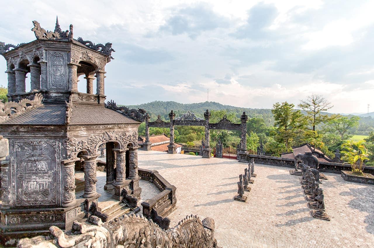 Patrimônio UNESCO: Tumba Khai Dinh - Vietnã