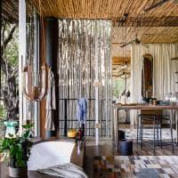 Banheiro no Singita Sweni