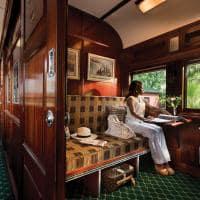 Pullman Suite no Rovos Rail durante o dia