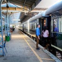 Rovos Rail na Estação de Kimberley