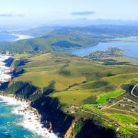 Vista aérea Knysna África do Sul