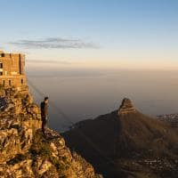 Vista da table mountain sat