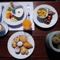 Cafe da manha casa de uco