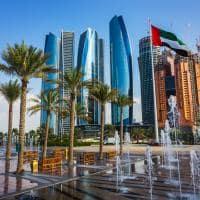 Arquitetura moderna Abu Dhabi Emirados Árabes