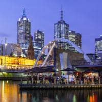Southbank, Flinders St Station, Melbourne, Austrália