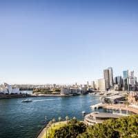 Vista aérea Sydney, Austrália