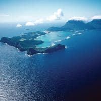 Vista aéreea de Lord Howe