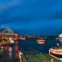 Vista Harbour Bridge Sydney Opera House