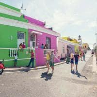 Bairro Bo Kaap em Cape Town