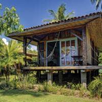 Casa dos arandis bangalow vista externa