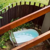 Cristalino lodge bangalo especial banheira