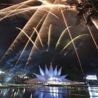 Gramado fogos de artificio