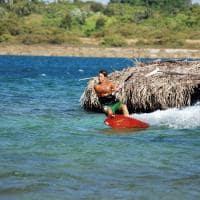 Esporte aquático em Jericoacoara