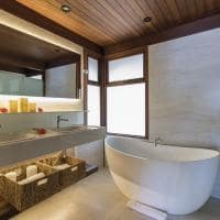 Nannai muroalto banheiro bangalos