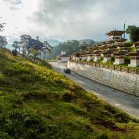 Atrativo turístico Butão Dochula Pass