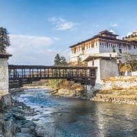 Atrativo turístico Rinpung Dzong Paro Butao