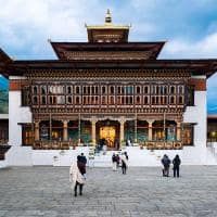 Six senses thimphu dzong temple
