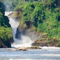Cachoeira em Uganda