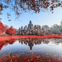 Viagem Camboja Templo Bayon