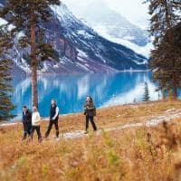 caminhada Lake louise grupo