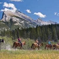 Passeio a cavalo Banff National Park
