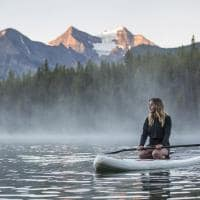 Stand-up Paddle Banff National Park