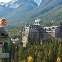 Vista área Banff