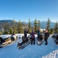 Whistler snowmobile