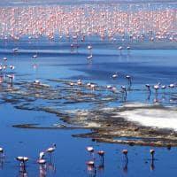 Travessia uyuni lagoa altiplano