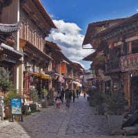 Cidade Zhongdian Yunnan