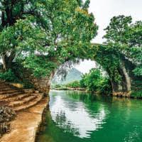 Dragon bridge yulong village