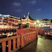 Edifício estilo pagode Shanghai China