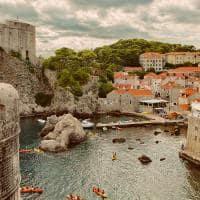 Fortaleza Lovrijenac na cidade antiga de Dubrovnik, Croáci