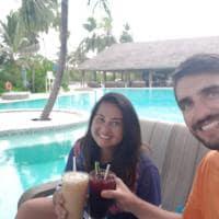 Vinicius e Carla_Ilhas Maldivas