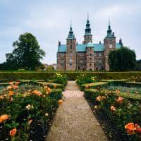 Jardins do Castelo Rosenborg - Copenhagen, Dinamarca.