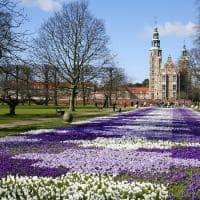 Primavera no Castelo de Rosenborg