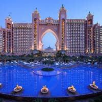 Atlantis the palm piscina