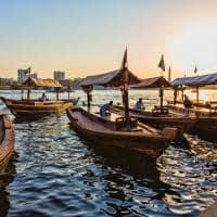 Atrativo turístico barcos Dubai Creek