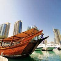 Barco marina Dubai