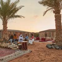Deserto dubai acampamento