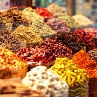 Especiarias árabes Souk Madinat Jumeirah Dubai